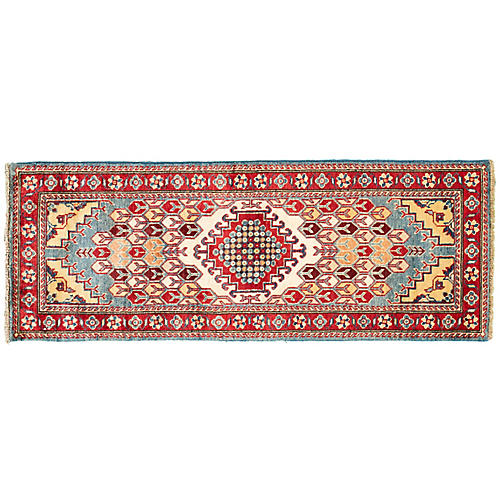"2'1""x5'9"" Kaira Kazak Runner, Red"