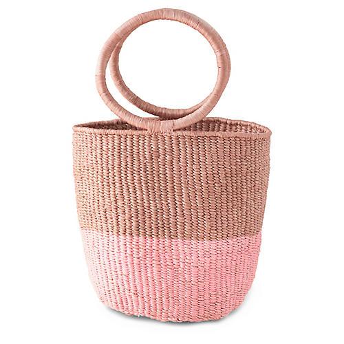 Junonia Two-Tone Bag, Mauve/Pink