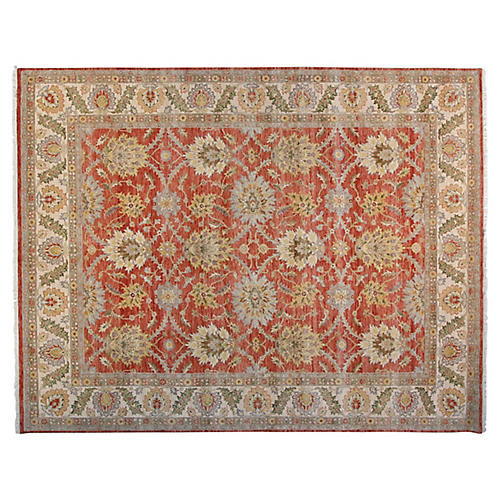 8'x10' Alyssa Rug, Red