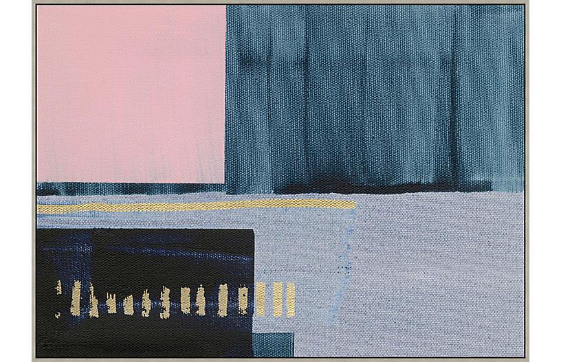 Thom Filicia, Denim Abstract I