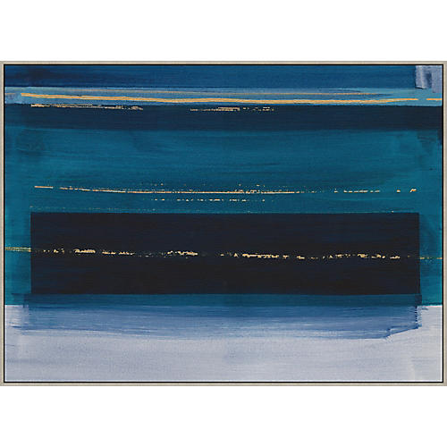 Thom Filicia, Denim Abstract II