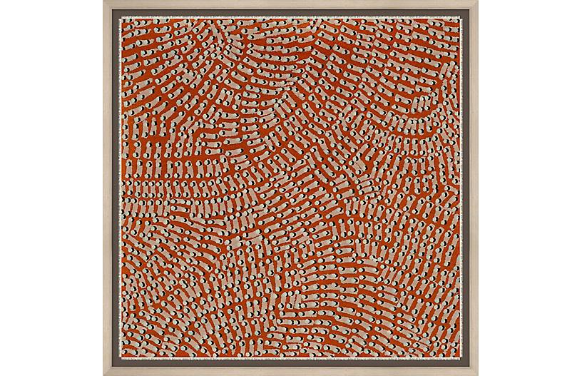 Thom Filicia, Red Pattern I