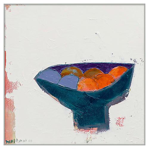 Folk Art Fruit Bowl I