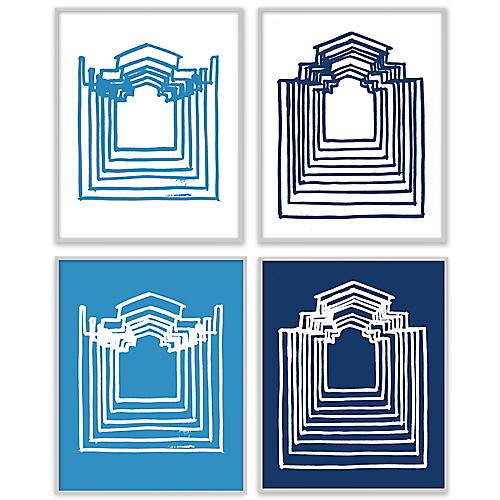 S/4 Blue Echolocation House