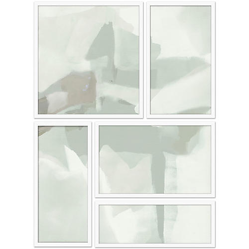 Spliced Fog Abstract I Set