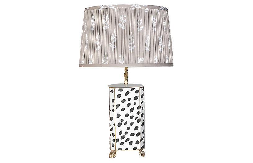 Fleck Table Lamp, Black