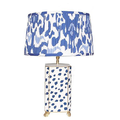 Fleck Table Lamp, Navy