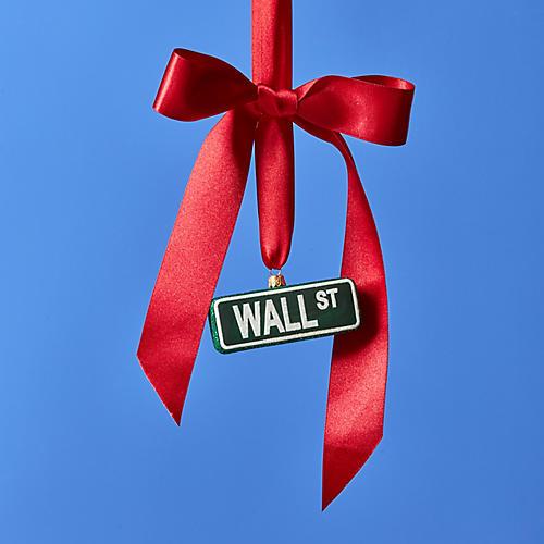 Wall Street Ornament, Green