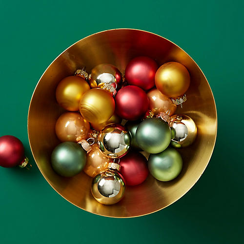 Asst. of 20 Curated Collection Ornaments, Gold