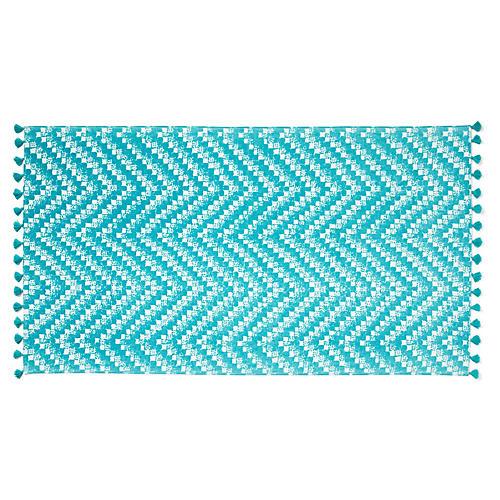 Ibiza Beach Towel, Turquoise