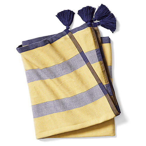 Tulum Beach Towel, Canary