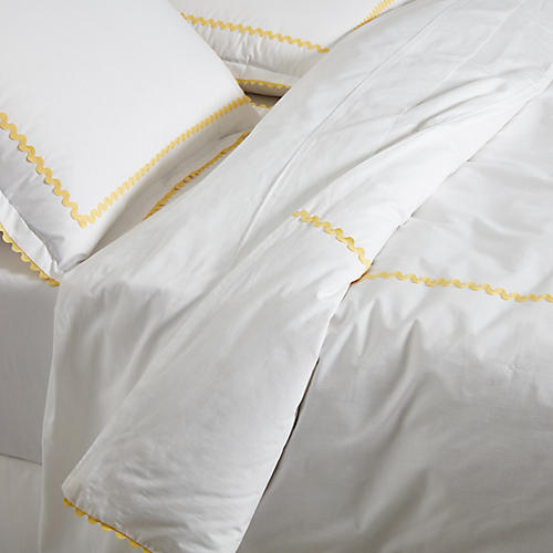 April Duvet Set, Yellow