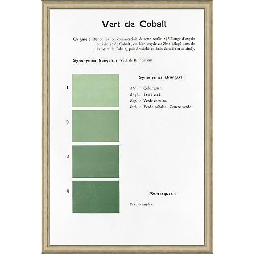 Danielle Rollins, Vert de Cobalt Oversize