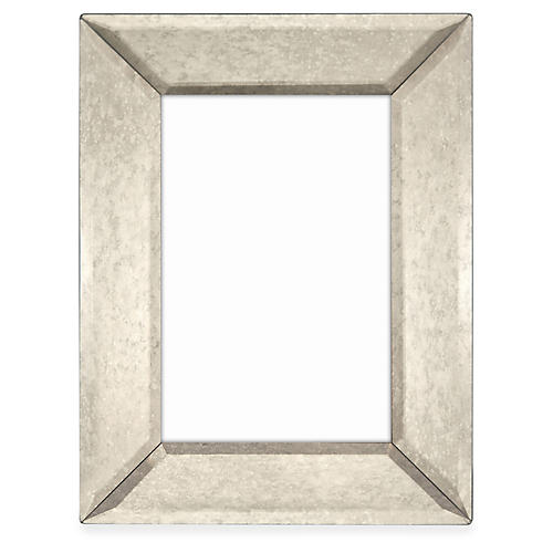 Canal Mirrored Frame, Gray