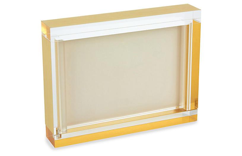 Byron Block Frame, Gold