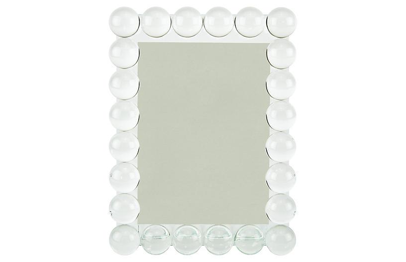 Clara Bubble Frame, Crystal