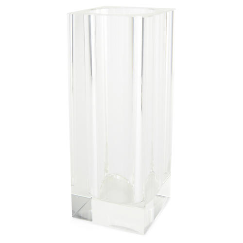 """14"""" Swain Tall Bud Vase, Crystal"""