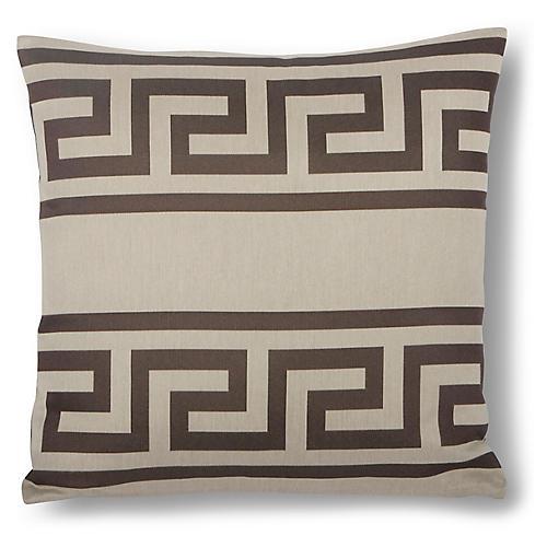 Tadeas 18x18 Pillow, Onyx