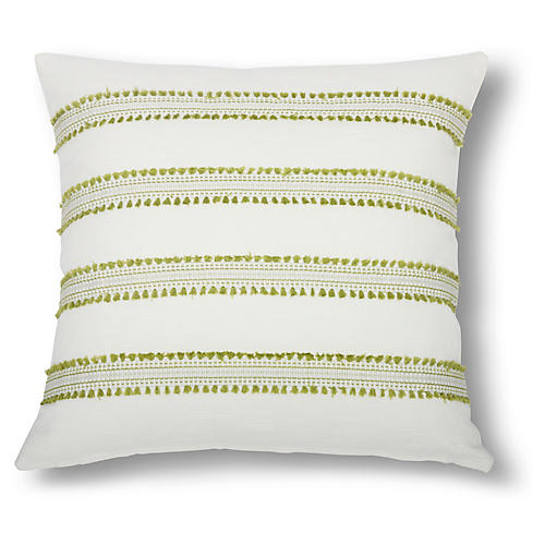 Odell 22x22 Pillow, Lime