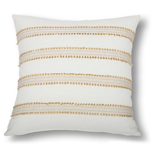 Odell 22x22 Pillow, Gold