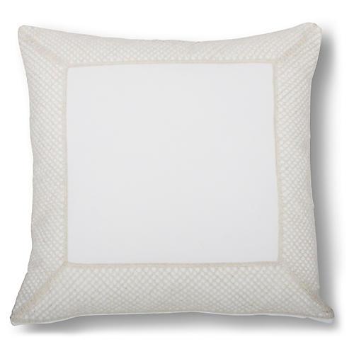 Hadwin 22x22 Bolster Pillow, Beige
