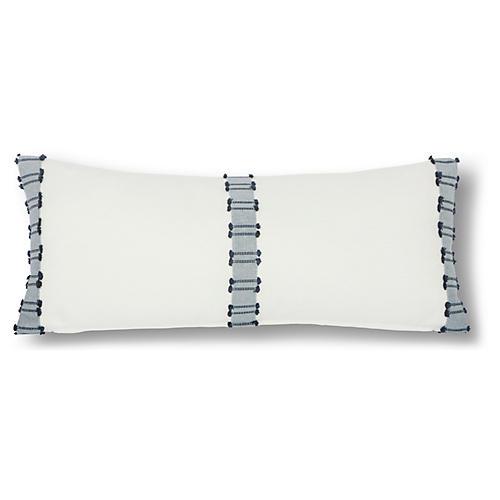 Midori 12x28 Lumbar Pillow, Navy