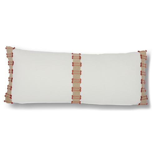 Midori 12x28 Lumbar Pillow, Orange