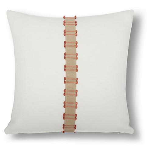 Midori 18x18 Pillow, Orange