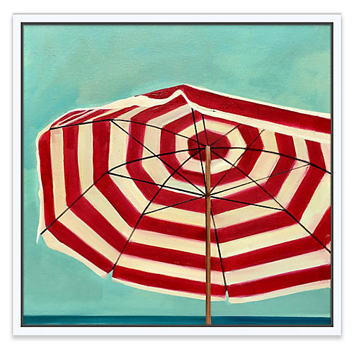 T.S. Harris, Red & White Umbrella