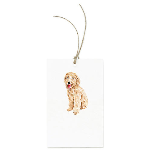 S/12 Goldendoodle Gift Tags