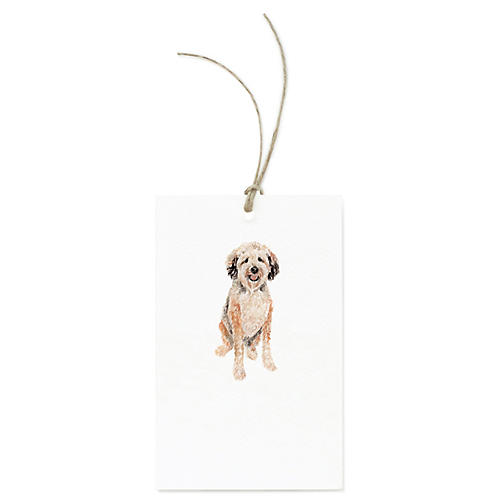 S/12 Wheaten Terrier Gift Tags
