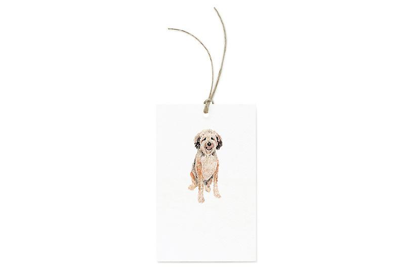 S/12 Wheaten Terrier Gift Tags