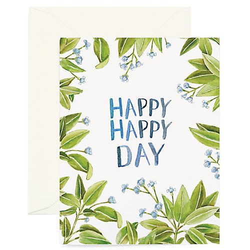 S/8 Happy Happy Day Greeting Cards