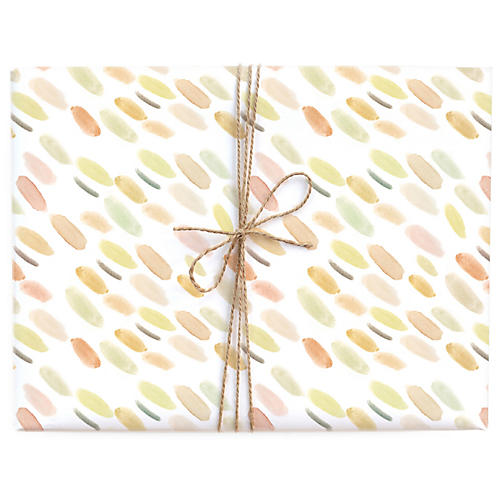 S/3 Spring Wash Gift Wrap