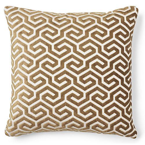 Ming 20x20 Pillow, Bronze