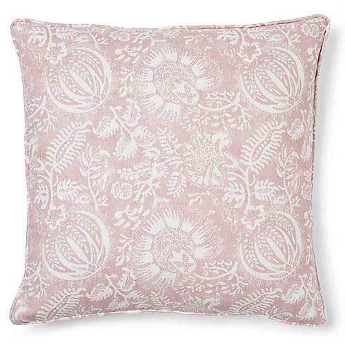 Pomegranate 20x20 Pillow, Petal Linen