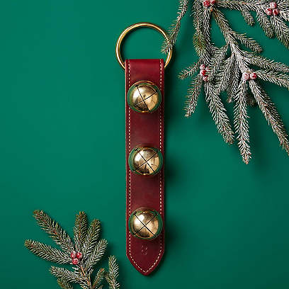 Moyer Door Bells, Burgundy/Brass