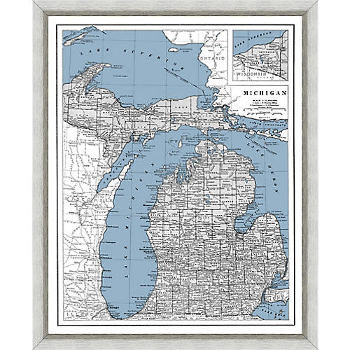 Heritage Map of Michigan