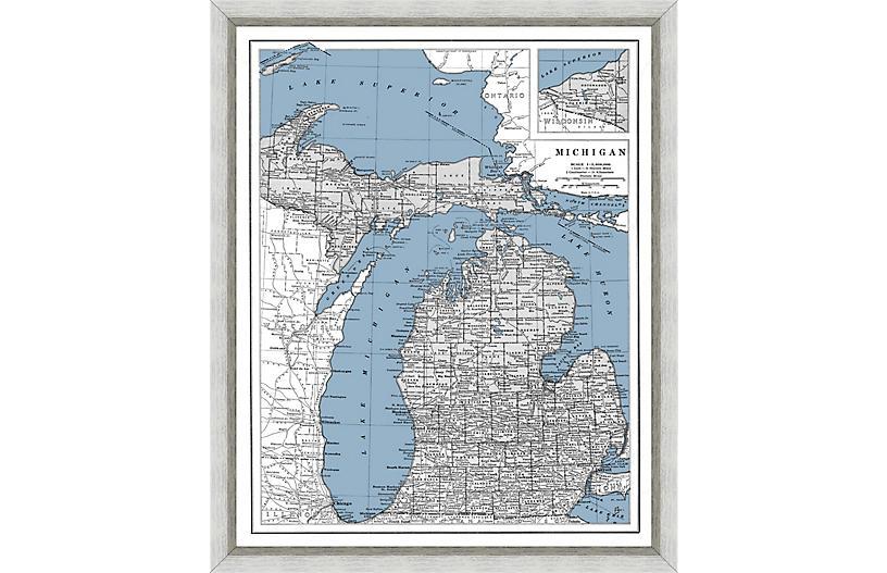 Heritage Map of Michigan