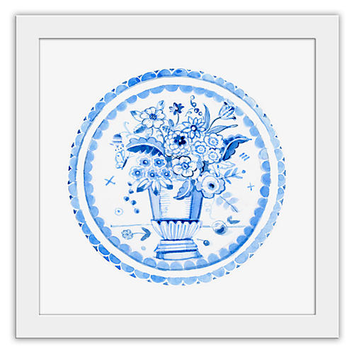 Cathy Graham, Blue Vase