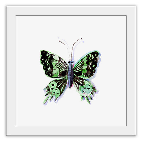 Cathy Graham, Green Butterfly