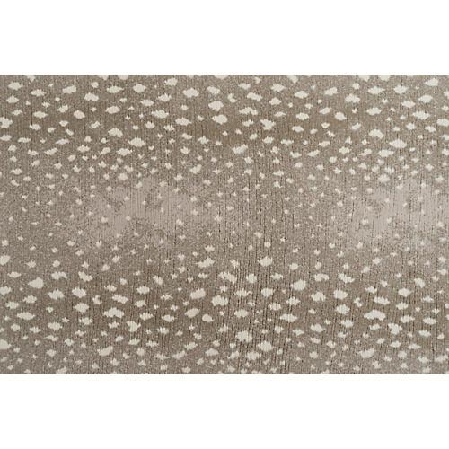 Fauna Rug, Stone Gray
