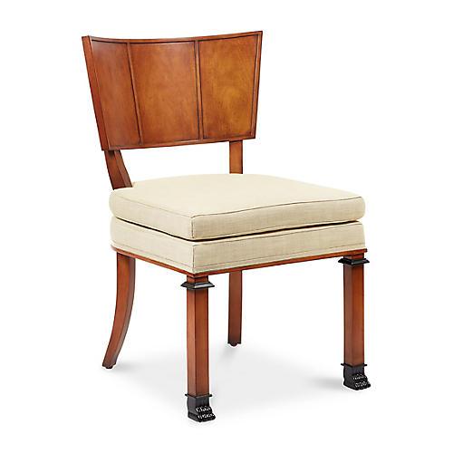 Freya Chair, Natural Linen