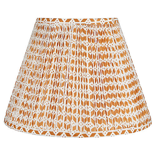 Roxbury Lampshade, Orange
