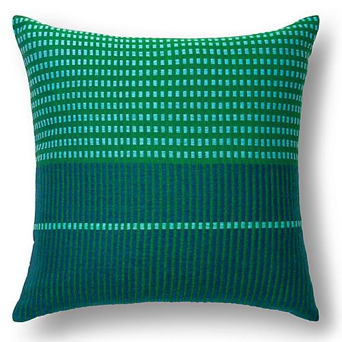 Asum 18x18 Pillow, Teal