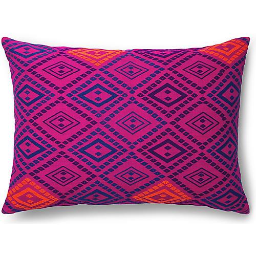 Zinar 20x26 Pillow, Fuchsia