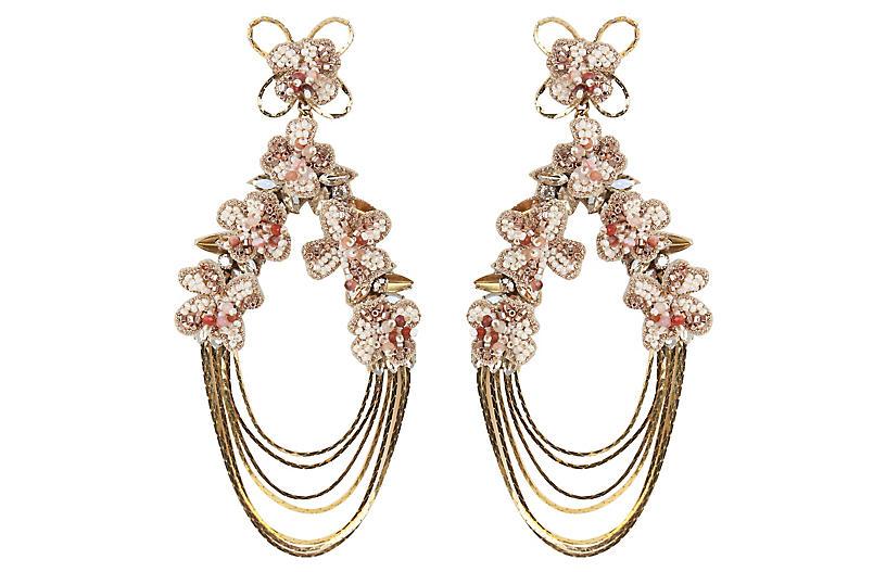Kassidy Earrings, Gold