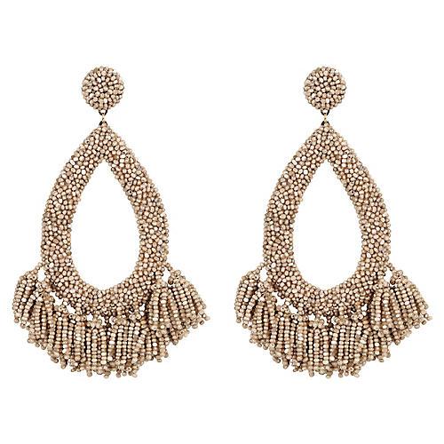 Rafela Earrings, Champagne