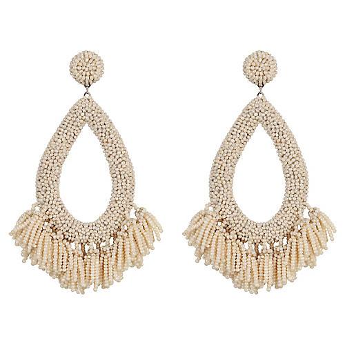 Rafela Earrings, Pearl