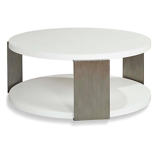 Coaraze Coffee Table, Alabaster